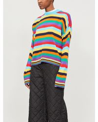 The Ragged Priest - Road Trip Striped Knitted Jumper - Lyst