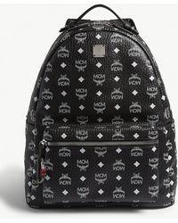 1a94447b00e Lyst - MCM Stark Leather Sling Bag in Black for Men