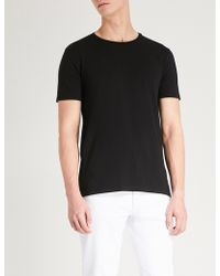 HUGO - Crewneck Pack Of Two Cotton-jersey T-shirts - Lyst