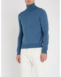 Sandro - Turtleneck Fine-knit Wool Jumper - Lyst