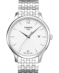 Tissot - T063.610.11.037.00 Tradition Stainless Steel Watch - Lyst