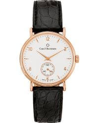 Carl F. Bucherer - 00.10305.03.26.01 Adamavi Rose-gold Sapphire Crystal And Leather Watch - Lyst