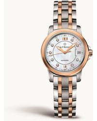 Carl F. Bucherer - 00.10621.07.77.21 Stainless Steel And 18ct Rose-gold Watch - Lyst