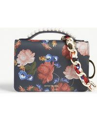 Mother Of Pearl - Drew Floral Leather Shoulder Bag - Lyst