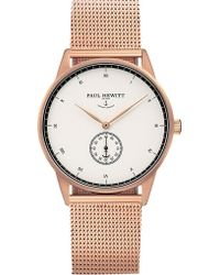 PAUL HEWITT - Signature Line Rose Gold-plated Stainless Steel Watch - Lyst