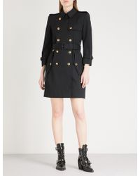 Givenchy - Double-breasted Cotton-twill Trench Coat - Lyst