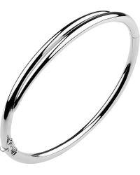 Shaun Leane - White Feather Sterling Silver Cuff Bracelet - Lyst