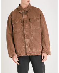 Yeezy - Season 6 Cotton Carpenter Coat - Lyst