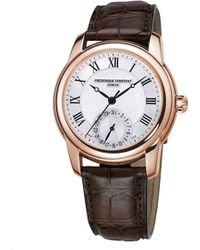 Frederique Constant - Fc710mc4h4 Classic Gold-plated And Leather Unisex Watch - Lyst
