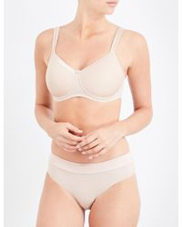Amoena - Lara Satin Non-wired Bra - Lyst