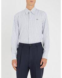 Vivienne Westwood - Striped Regular-fit Cotton Shirt - Lyst