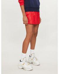 Fila - Ambra Embroidered Logo Jersey Skirt - Lyst