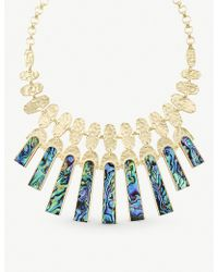 Kendra Scott - Mimi Silver-plated And Abalone Shell Necklace - Lyst