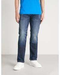 True Religion - Ricky Flap Super T Denim Jeans - Lyst