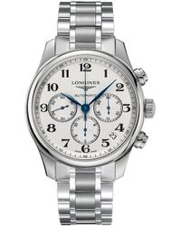 Longines - L28594786 Master Collection Stainless Steel Watch - Lyst