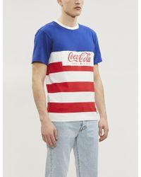 ce11d157902 Tommy Hilfiger - Tommy X Coca Cola Cotton-jersey T-shirt - Lyst