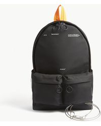 Off-White c/o Virgil Abloh | Industrial Tape Canvas Backpack | Lyst