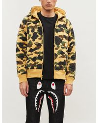 A Bathing Ape - Camouflage-print Cotton-jersey Hoody - Lyst
