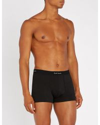 Paul Smith - Pack Of Three Slim-fit Cotton Boxers - Lyst