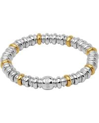 Links of London | Sweetheart Sterling Silver And 18ct Yellow-gold Bracelet | Lyst