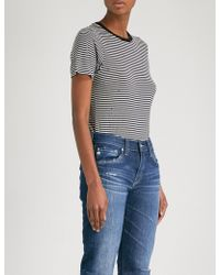 AG Jeans - Ladies The Ex-boyfriend Mid-rise Slouchy Jeans - Lyst