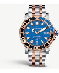 Carl F. Bucherer - 00.10632.24.53.21 Patravi Scubatec Stainless Steel And 18ct Rose-gold Watch - Lyst