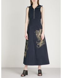Angel Chen - Zipped Shell Dress - Lyst