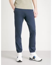 BOSS Green - Relaxed-fit Jersey Jogging Bottoms - Lyst