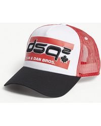 DSquared² - Logo-embroidered Snapback Cap - Lyst