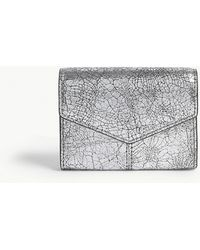 Sandro - Metallic Leather Purse - Lyst