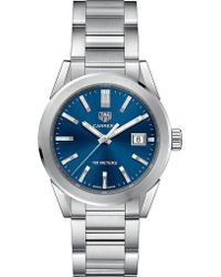 Tag Heuer - Wbg1310ba0758 Carrera Stainless Steel Quartz Watch - Lyst