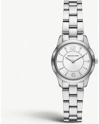 Michael Kors - Mk6610 Runway Silver-plated Watch - Lyst