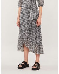 110c9fafb Women's Ganni Skirts Online Sale - Lyst