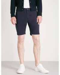 PS by Paul Smith - Regular-fit Stretch-cotton Shorts - Lyst