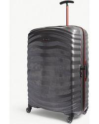 Samsonite - Lite-shock Sport Hardshell Spinner Suitcase 81cm - Lyst