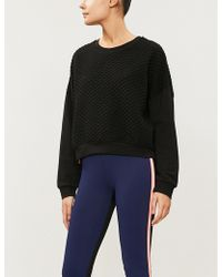 Monreal London - Quilted Jersey Sweatshirt - Lyst