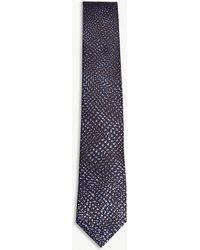 Lanvin - Dégradé Spotted Silk Tie - Lyst