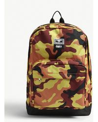 Obey - Drop Out Juvee Camouflage Backpack - Lyst