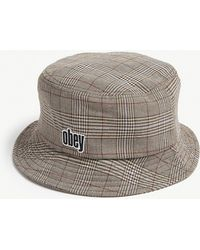 Obey - Dayton Cotton-blend Bucket Hat - Lyst