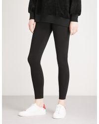 5cm - Contrast-panel Skinny Cotton-blend Leggings - Lyst