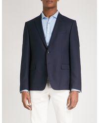 BOSS - Tailored-fit Wool Jacket - Lyst