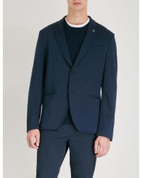 Michael Kors - Tailored-fit Stretch-jersey Jacket - Lyst