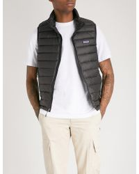 Patagonia - Padded Shell-down Gilet - Lyst