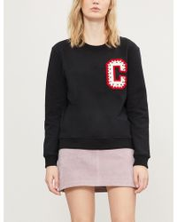 Claudie Pierlot - Teo Cotton-blend Sweatshirt - Lyst