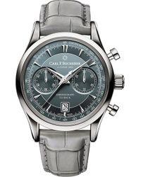 Carl F. Bucherer - Manero Flyback Stainless Steel Watch - Lyst