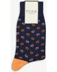 Thomas Pink - Leif Paisley Socks - Lyst