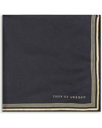 Tiger Of Sweden - Sigfriedo Silk Pocket Square - Lyst