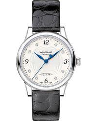 Montblanc - Boheme Date 111055 Stainless Steel Watch - Lyst