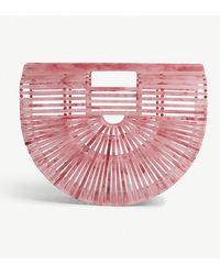 Cult Gaia - Cherry Pink Quartz Ark Acrylic Clutch Bag - Lyst