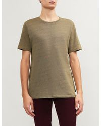 PS by Paul Smith - Mottled Cotton-jersey T-shirt - Lyst